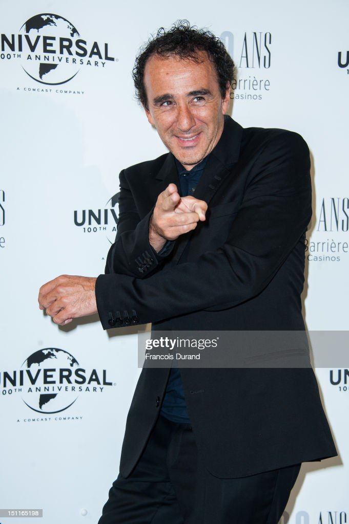 Elie Semoun attends the 100th anniversary of Universal and Lucien Barriere at Royal Barriere hotel during the 38th Deauville American Film Festival on September 1, 2012 in Deauville, France.