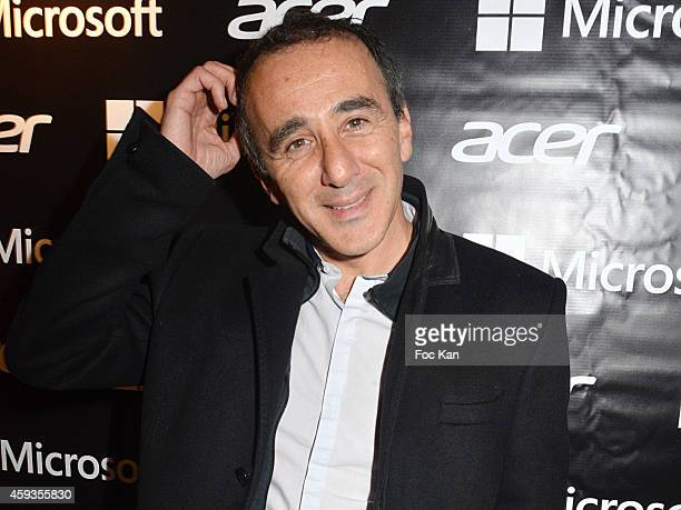 Elie Semoun attends the Acer Pop Up Store Launch Party at Les Halles on November 20 2014 in Paris France