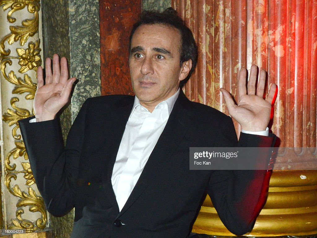 <a gi-track='captionPersonalityLinkClicked' href=/galleries/search?phrase=Elie+Semoun&family=editorial&specificpeople=2240316 ng-click='$event.stopPropagation()'>Elie Semoun</a> attends the 'Don't Tell My Booker' Supports La Croix Rouge Dinner - PFW F/W 2013 at the Hotel Intercontinental on March 2nd, 2013 in Paris, France.