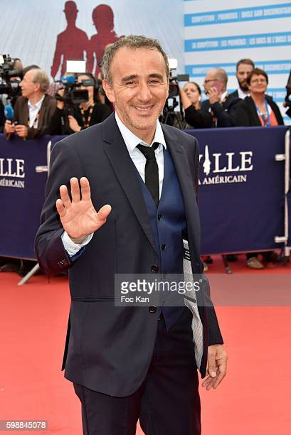 Elie Semoun attends the 'Infiltrator' Deauville Premiere as part of 42nd Deauville American Film Festival Opening Ceremony at the CID on September 2...