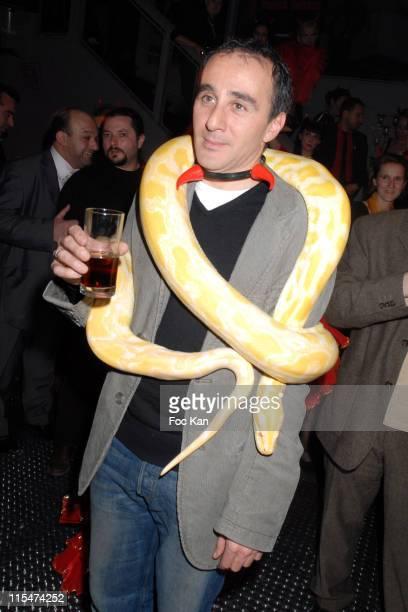 Elie Semoun during Franck Dubosc's ''Pour Toi Public2'' DVD Launch Party November 20 2006 at Restaurant Le Sens in Paris France