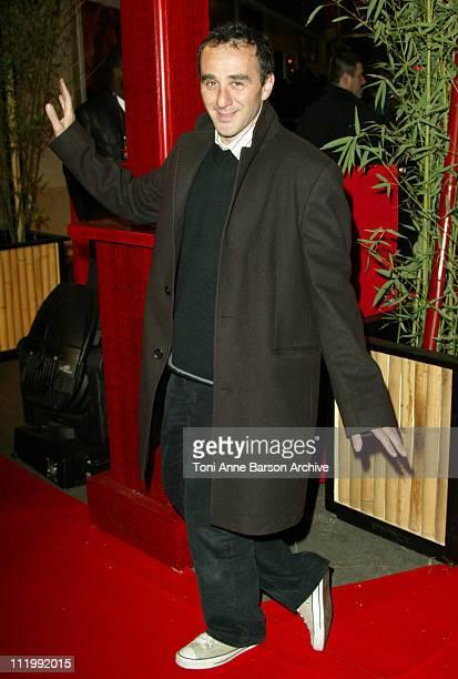 Elie Semoun during 'The Last Samurai' Paris Premiere Outside Arrivals at Grand Rex in Paris France
