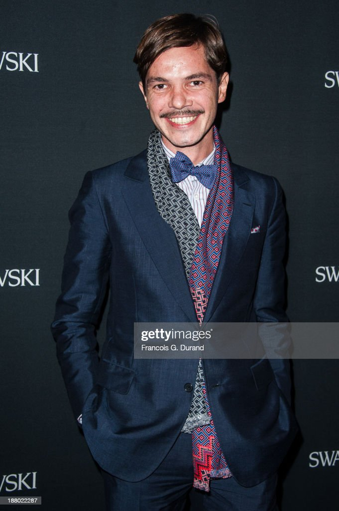 Elie Top attends the Swarovski Dinner In Honor of the Bouroullec Brothers at Chateau de Versailles on November 14, 2013 in Versailles, France.