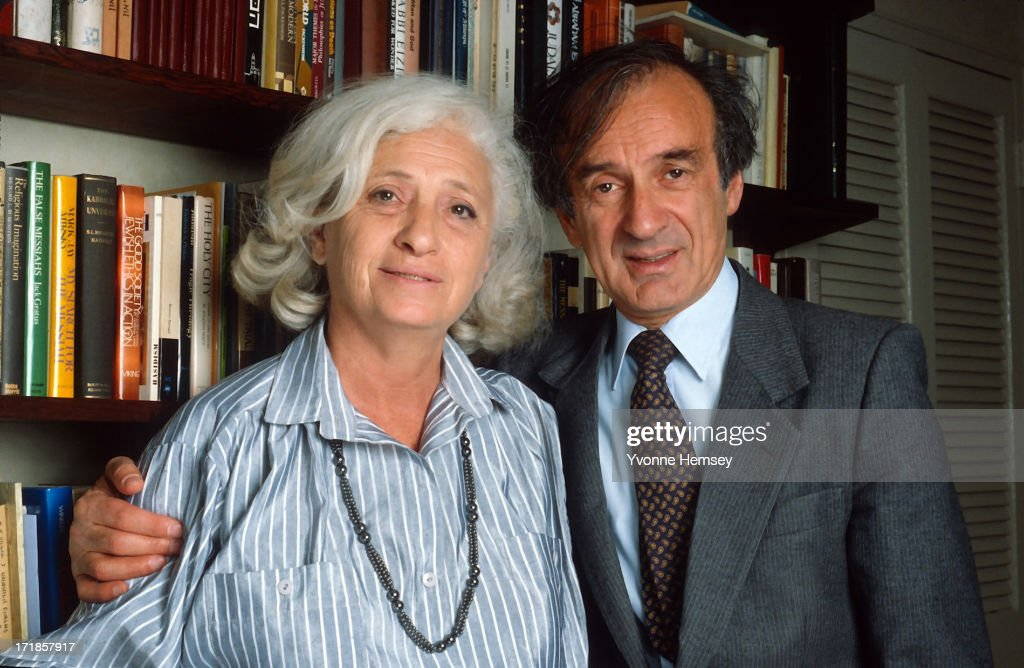 Elie Wiesel and his wife Marion are photographed October 14, 1986 at their home in New York City. It was announced this morning that Mr. Wiesel is the winner of the Nobel Peace Prize for 1986.