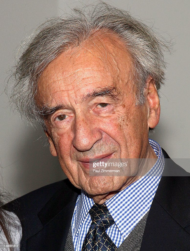 Elie Wiesel attends the 'Follow Me: The Yoni Netanyahu Story' screening at The Museum of Modern Art on April 29, 2012 in New York City.