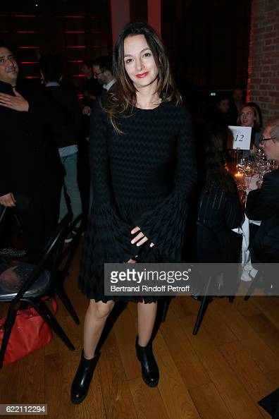 Eliette Abecassis attends the Carla Sozzani Photo Exhibition at Azzedine Alaia Gallery on November 9 2016 in Paris France
