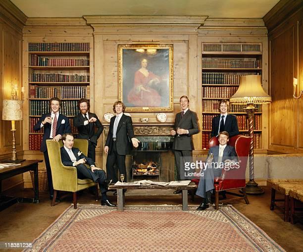 Eligible bachelors Hon Anthony Fane George Moreton Mark Shand Earl Grosvenor Marquess of Blandford John BowesLyon Hon Brian Alexander 16th November...