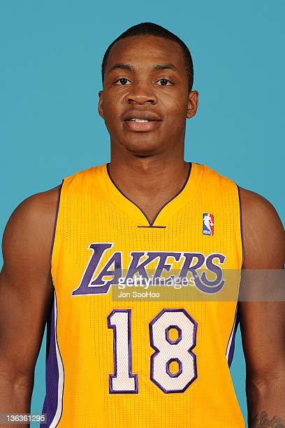 Elijah Millsap of the Los Angeles Lakers poses for a photo during Media Day at Toyota Sports Center on December 11 2011 in El Segundo California NOTE...
