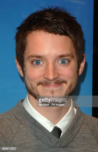 Elijah Wood arriving for the UK Premiere of Happy Feet at the Empire Leicester Square in central London