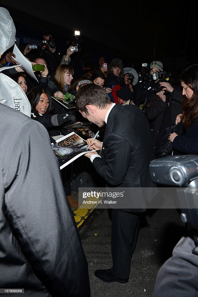 <a gi-track='captionPersonalityLinkClicked' href=/galleries/search?phrase=Elijah+Wood&family=editorial&specificpeople=171364 ng-click='$event.stopPropagation()'>Elijah Wood</a> at 'The Hobbit: An Unexpected Journey' New York premiere benefiting AFI at Ziegfeld Theater on December 6, 2012 in New York City.