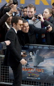 Elijah Wood Attends The European Premiere Of Happy Feet Two At The Empire Leicester Square