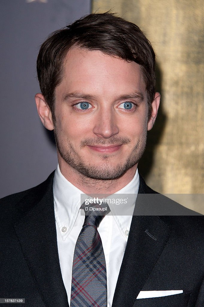 <a gi-track='captionPersonalityLinkClicked' href=/galleries/search?phrase=Elijah+Wood&family=editorial&specificpeople=171364 ng-click='$event.stopPropagation()'>Elijah Wood</a> attends 'The Hobbit: Unexpected Journey' premiere at the Ziegfeld Theater on December 6, 2012 in New York City.