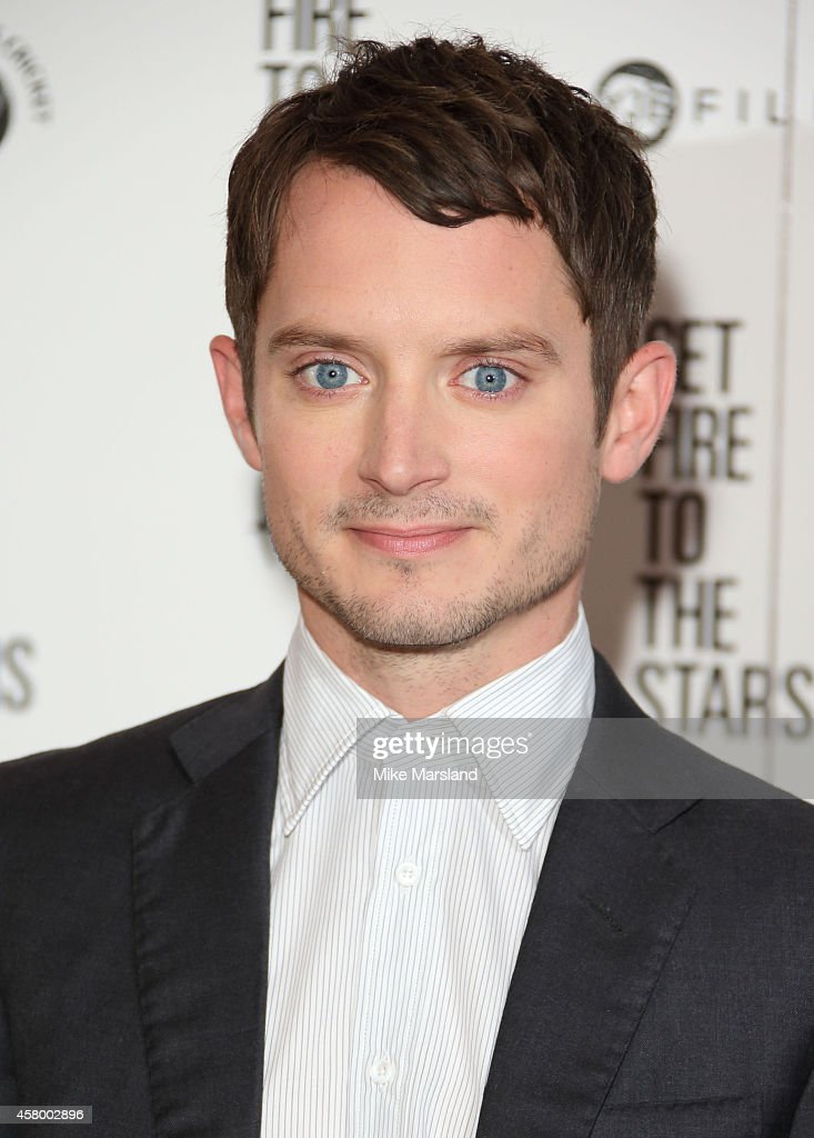 Elijah Wood attends the UK Premiere of 'Set Fire To The Stars' at Ham Yard Hotel on October 28 2014 in London England