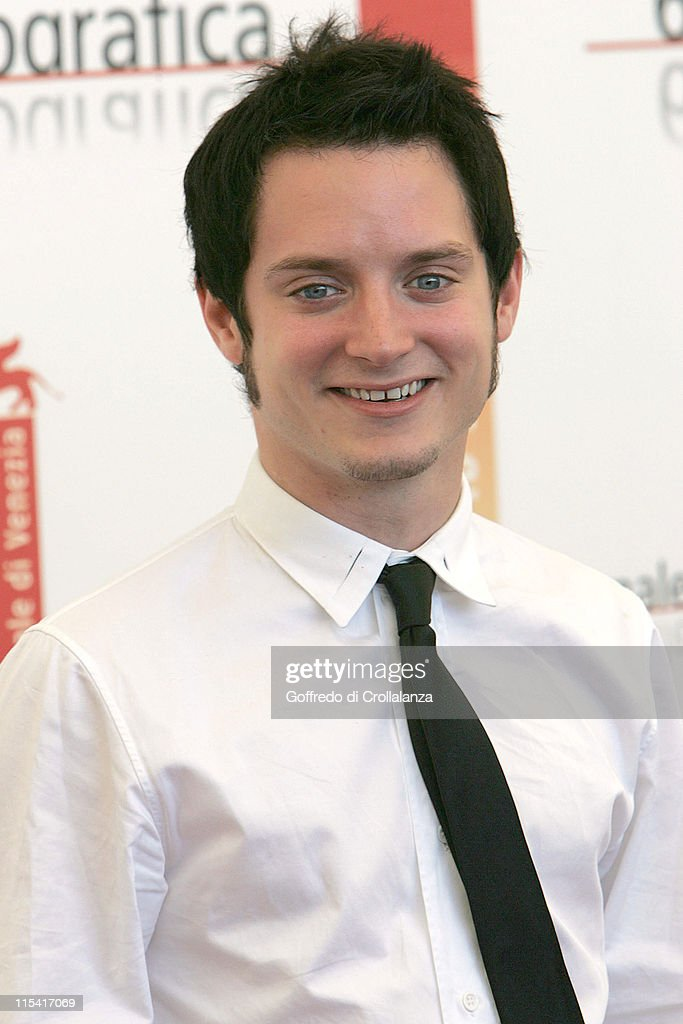 Elijah Wood during 2005 Venice Film Festival - 'Everything is Illuminated' Photocall at Casino Palace in Venice, Italy.