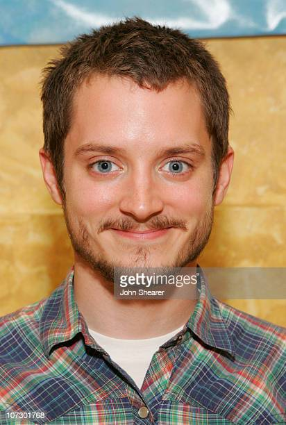 Elijah Wood during 2006 Giffoni International Children's Film Festival Juror Dinner with Elijah Wood at Divina Commeia in Giffoni Italy