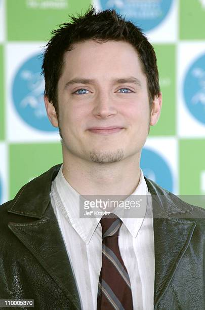 Elijah Wood during 20th IFP Independent Spirit Awards Arrivals at Santa Monica Beach in Santa Monica California United States