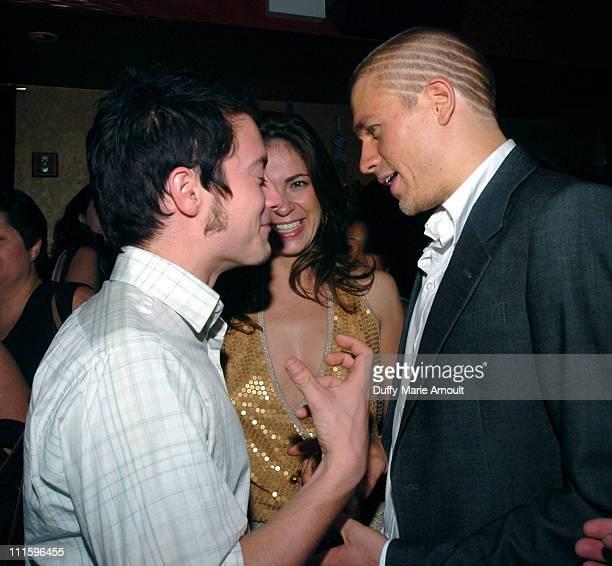 Elijah Wood Lexi Alexander director and Charlie Hunnam