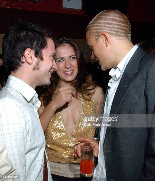 Elijah Wood Lexi Alexander director and Charlie Hunnam