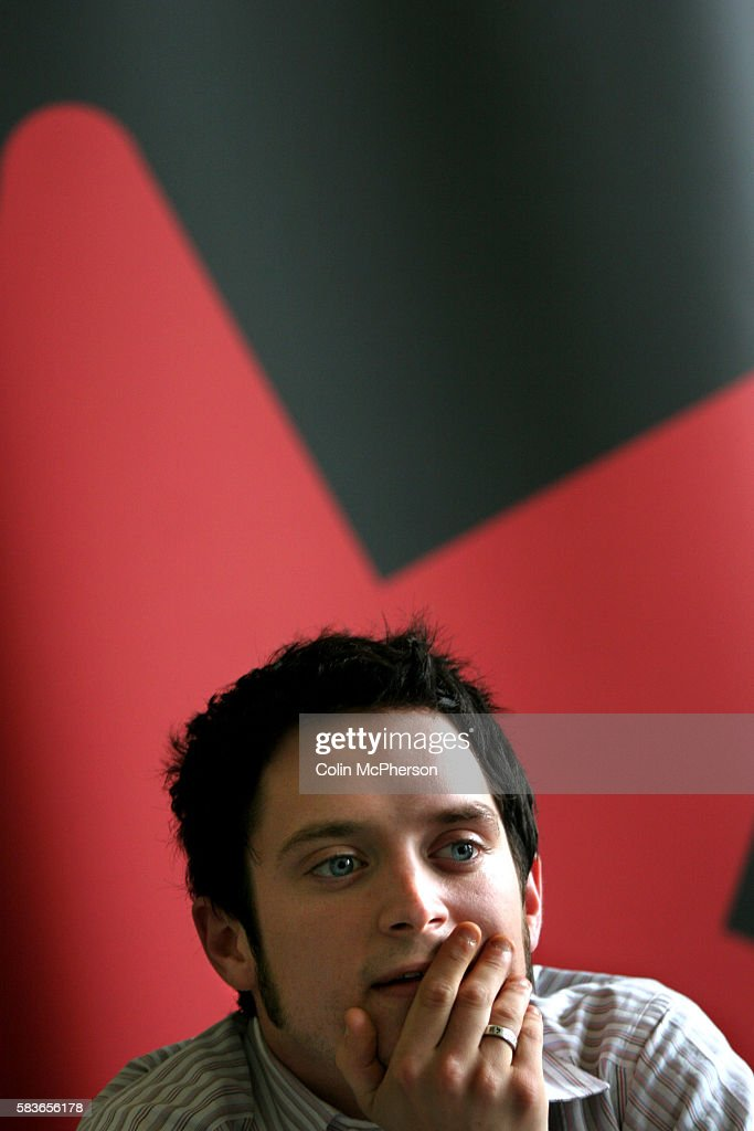 Elijah Wood promotes 'Green Street' during a photocall at the Balmoral Hotel The 59th Edinburgh International Festival runs from 1728 August