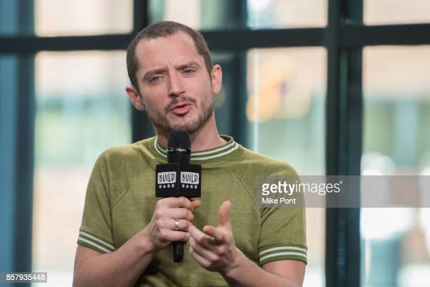 Elijah Wood visits Build Studio to discuss 'Dirk Gently's Holistic Detective Agency' at Build Studio on October 5 2017 in New York City