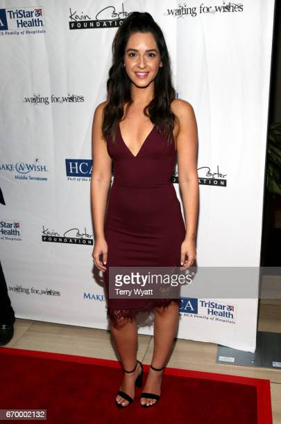 Elika Sadeghi attends the 16th Annual Waiting for Wishes Celebrity Dinner Hosted by Kevin Carter Jay DeMarcus on April 18 2017 in Nashville Tennessee