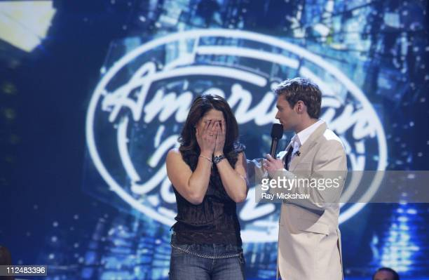 Eliminated 'American Idol' Season 4 Top 24 Semifinalist Melinda Lira from Hanford California and Ryan Seacreast