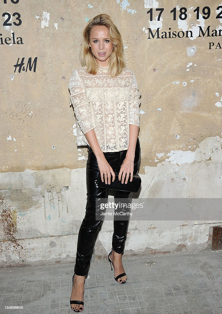 Elin Kling attends the Maison Martin Margiela with H&M global launch event at 5 Beekman on October 23, 2012 in New York City.