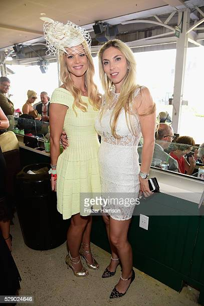Elin Nordegren and Nicole Henry attend the 142nd Kentucky Derby at Churchill Downs on May 07 2016 in Louisville Kentucky