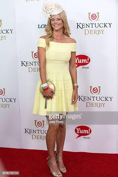 Elin Nordegren attends the 142nd Kentucky Derby at Churchill Downs on May 07 2016 in Louisville Kentucky