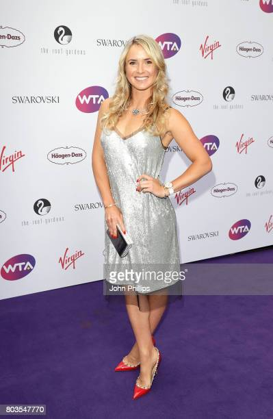 Elina Svitolina attends the annual WTA PreWimbledon Party at The Roof Gardens Kensington on June 29 2017 in London United Kingdom