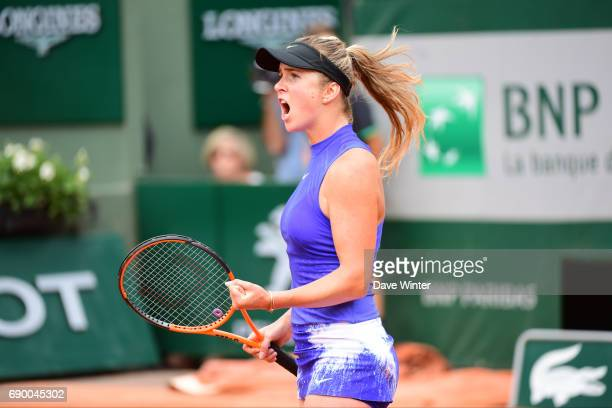 Elina Svitolina during day 3 of the French Open at Roland Garros on May 30 2017 in Paris France
