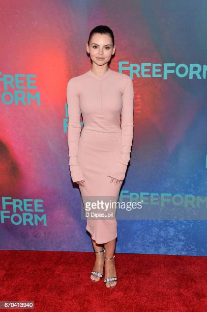 Eline Powell attends the Freeform 2017 Upfront at Hudson Mercantile on April 19 2017 in New York City