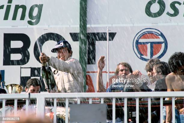 Elio de Angelis Grand Prix of Austria Red Bull Ring Spielberg Austria August 15 1982