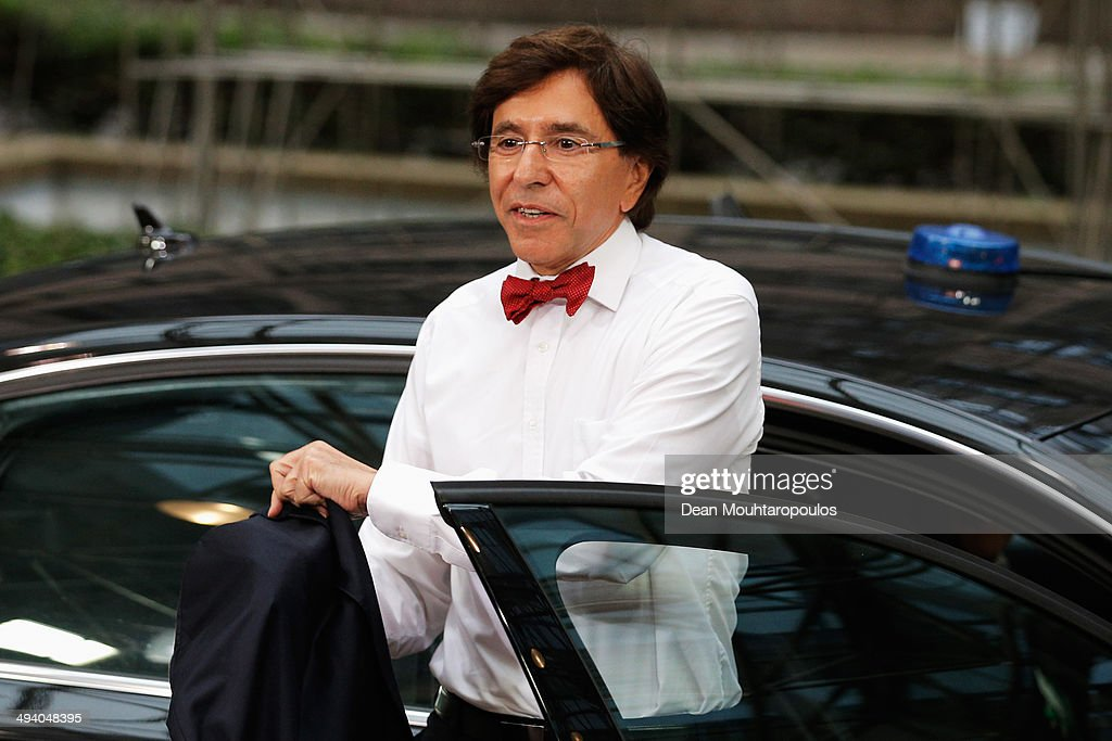 <a gi-track='captionPersonalityLinkClicked' href=/galleries/search?phrase=Elio+Di+Rupo&family=editorial&specificpeople=743705 ng-click='$event.stopPropagation()'>Elio Di Rupo</a>, Prime Minister of Belgium, arrives at the Informal Dinner of Heads of State or Government held at the Justus Lipsius Building on May 27, 2014 in Brussels, Belgium. Voting in the European elections resulted in significant gains for Eurosceptic parties in several countries across the continent in what has been described as a political 'earthquake'.
