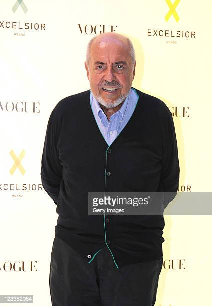 Elio Fiorucci attends the opening cocktail party of Excelsior Milano on September 6 2011 in Milan Italy