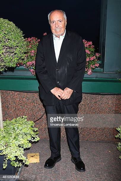 Elio Fiorucci attends the Vivienne Westwood After Show Party as part of Milan Fashion Week Menswear Spring/Summer 2015 on June 22 2014 in Milan Italy
