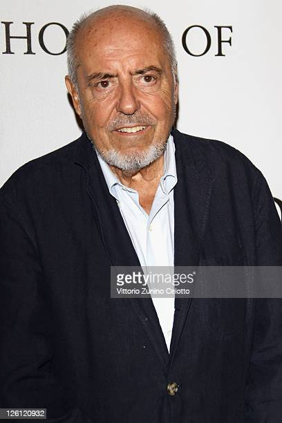 Elio Fiorucci attends The Vogue Fashion Fund Who Is On Next party dring Milan Fashion Week Womenswear Spring/Summer 2012 at Palazzo Morando on...