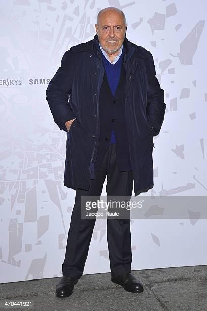 Elio Fiorucci attends The Vogue Talents Cornercom during Milan Fashion Week Womenswear Autumn/Winter 2014 on February 19 2014 in Milan Italy