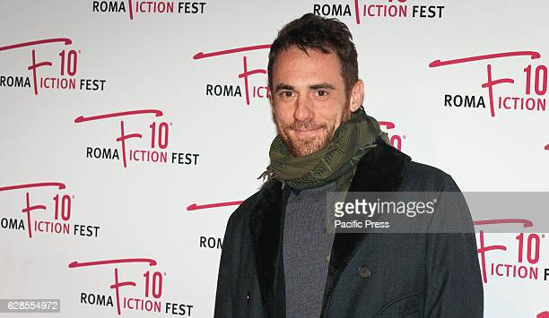 Elio Germano attend at the Red Carpet of 'In art Nino' presented at the Roma Fiction Fest 2016