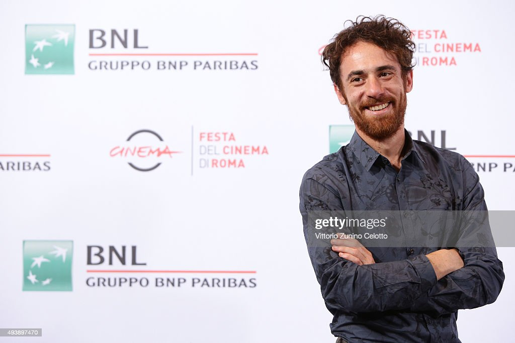 Elio Germano attends a photocall for 'Alaska' during the 10th Rome Film Fest on October 23, 2015 in Rome, Italy.