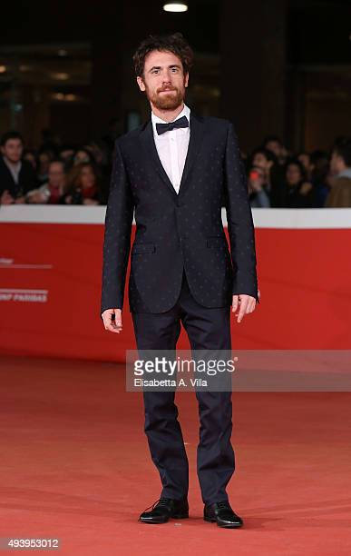 Elio Germano attends the red carpet for 'Alaska' during the 10th Rome Film Fest at Auditorium Parco Della Musica on October 23 2015 in Rome Italy