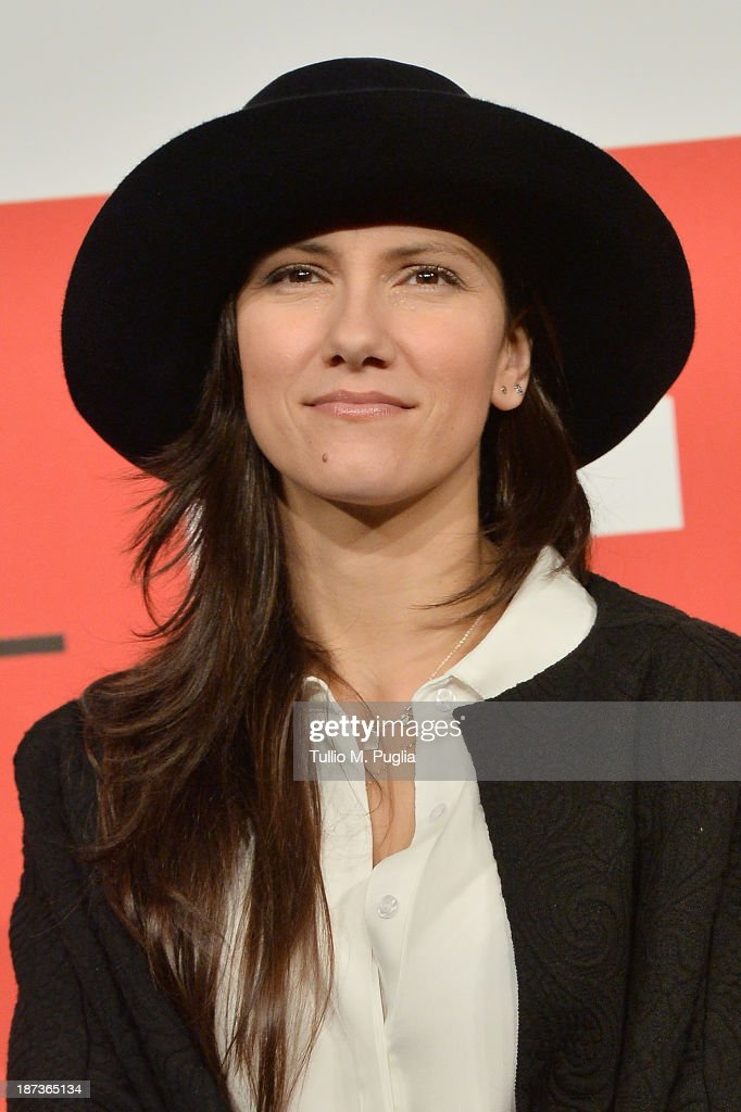 Elisa attends the 'L'Ultima Ruota Del Carro' Photocall during the 8th Rome Film Festival at the Auditorium Parco Della Musica on November 8, 2013 in Rome, Italy.