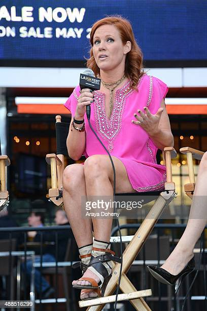 Elisa Donovan attends the Film Independent's prefestival outdoor screening of 'Clueless' at LA LIVE on May 6 2014 in Los Angeles California