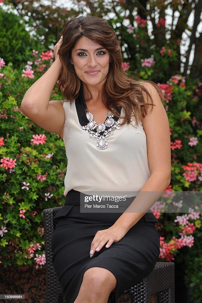 Elisa Isoardi attends RAI 1 TV programmes presentation at Hotel Westin Palace on August 30, 2012 in Milan, Italy.