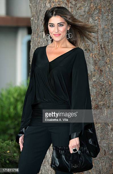 Elisa Isoardi attends RAI Television 2013 / 2014 Programming Presentation at RAI Dear Studios on June 25 2013 in Rome Italy