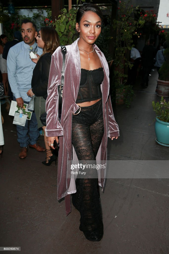 Elisa Johnson attends the BELLA Los Angeles Summer Issue Cover Launch Party at Sofitel Los Angeles At Beverly Hills on June 23, 2017 in Los Angeles, California.