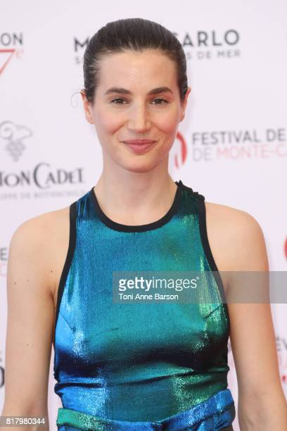 Elisa Lasowski arrives at the Opening Ceremony of the 57th Monte Carlo TV Festival and World premier of Absentia Serie on June 16 2017 in MonteCarlo...