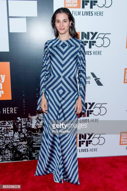 Elisa Lasowski attends the 55th New York Film Festival Opening Night Premiere Of 'Last Flag Flying' at Alice Tully Hall Lincoln Center on September...