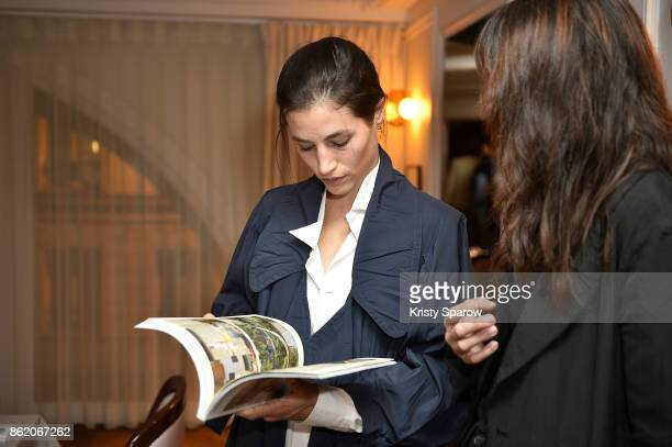 Elisa Lasowski attends the Surface Magazine Fall Fashion Issue 2017 Presentation on October 16 2017 in Paris France