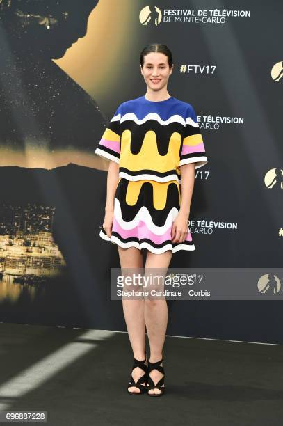 Elisa Lasowski from TV Show 'Versailles' poses for a Photocall during the 57th Monte Carlo TV Festival Day Two on June 17 2017 in MonteCarlo Monaco